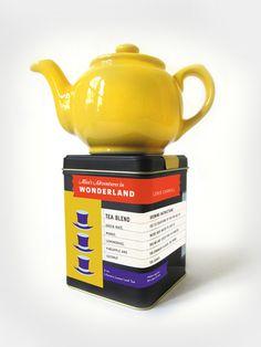 (4) Tumblr #packaging #in #alice #tea #teapot #wonderland