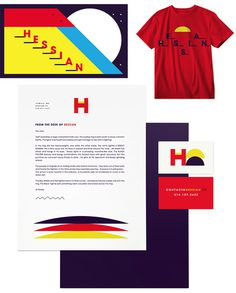 Hessian by Ben Pieratt #branding #packaging
