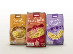 Adriana Mini Pasta on Packaging of the World Creative Package Design Gallery #packaging