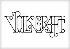 Volkcraft #type #lettering