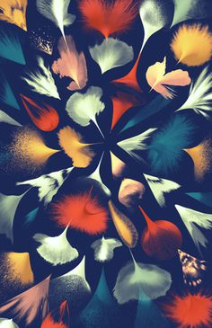 Illustrations by Santtu Mustonen — AGENT PEKKA #shape #color