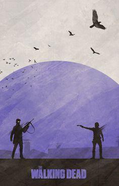 Seasons Of The Walking Dead Inspire Poster Series