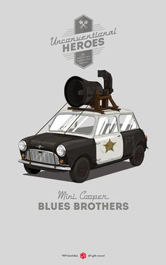 Blues Brother #movie #graphic #gerald #cars #poster #bear