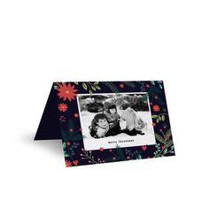 Christmas Blossom - Christmas Cards #christmas #card #cards #invitation #paperlust #paper #print #design #photo #photocard #wedding #weddi