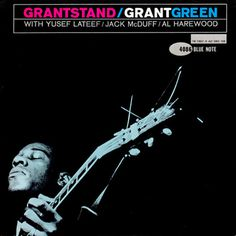 Grant Green, Blue Note 4086 jazz album cover