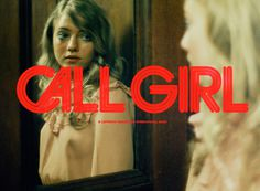 Title design by Daniel Carlsten #hooker #red #title #girl #70s #carlsten #call #vintage #film #daniel #typography