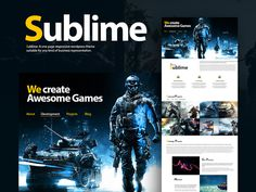 Sublime WordPress Theme #wordpress #design #theme