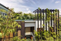 Gorgeous Vertical Garden House by Aamer Architects - #architecture, #house, #home, #decor, #interior,