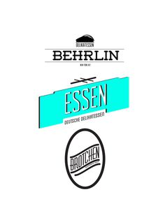 ESSEN // ESSEN // ESSEN #deli #flevo #rosco #designer #brotchen #design #graphic #essen #food #concepts #ideas #illustration #art #lunch #logo #typography