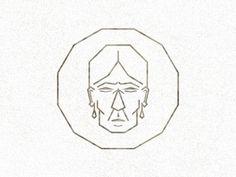 Dribbble - Maria Sabina by Alacran Creative