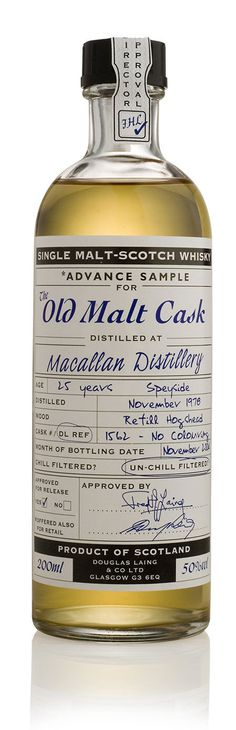 Douglas Laing 20 cl Old Malt Cask Whiskey Photo #label