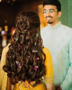 Rose Braid With Romantic Curls