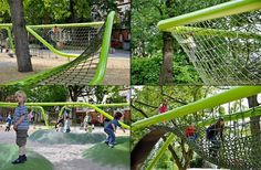 The Cool Hunter - Sculptural Playground - Wiesbaden, Germany #playspace