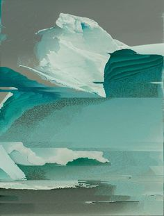 Tumblr #iceberg #glitch #corrupt