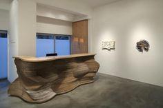Innovative Sculptural Workspace Modern