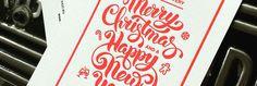 Designer Letter pressed Inspiration Invites #design #Invitation #christmas #typography #Inspiration #graphicdesign www.handlebranding.com.au