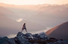 (2) Likes | Tumblr #mountains #girl #jump #pastels