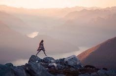 (2) Likes | Tumblr #mountains #girl #jump #pastels