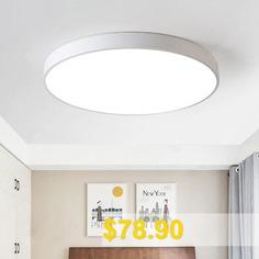 PZE #- #911 #- #XDD #Modern #Round #LED #Ceiling #Light #- #WHITE