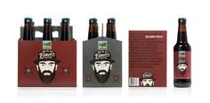 Young & Laramore Upland Brewing Co #brewery #beer #lettering #packaging #hand