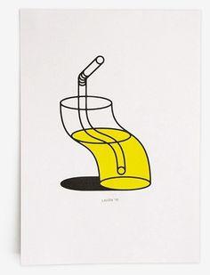 Trademark™ #glass #op art #tim #straw #lahan