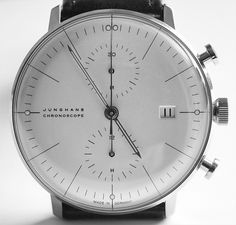 Max Bill x Junghans | September Industry #face #watch