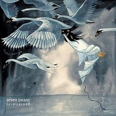 On Joyful Wings #album #swans #sufjan #cover #birds #painting #seven