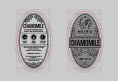 14 chamomile packaging design loose leafe tea design photo #tea #label #branding