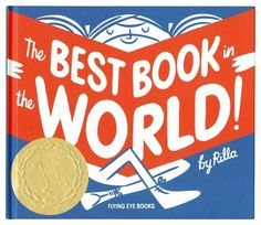 Design Envy · The Best Book in the World by Rilla Alexander #girl #illustrated