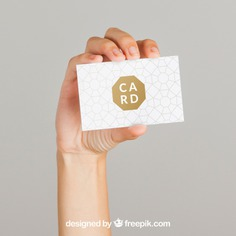 Mockup concept of hand and business card Free Psd. See more inspiration related to Logo, Business card, Mockup, Business, Abstract, Card, Hand, Template, Woman, Girl, Office, Visiting card, Presentation, Stationery, Corporate, Mock up, Company, Abstract logo, Modern, Corporate identity, Branding, Visit card, Identity, Brand, Business woman, Identity card, Female, Young, Business logo, Company logo, Logo template, Holding hands, Up, Concept, Visit, Holding, Showcase, Stylish, Showroom, Mock, Visiting, Presenting and Showing on Freepik.