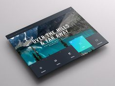 Weather Dashboard // Global Outlook UI/UX on Behance #ipad #app #weather