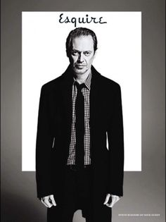 listras #photography #cover #esquire #styling #steve buscemi #magazines