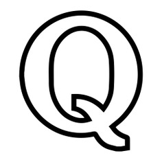 See more icon inspiration related to quora, social network, brand, logos, logotype, logo and social media on Flaticon.