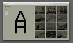 Marcus Hollands | Alla Horn #interior #branding #design #alla #website #identity #horn #marcus #hollands