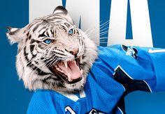 Tigres de garges roller hockey team #detail #poster