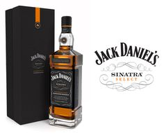 Jack Daniel's Sinatra Select The Dieline #whiskey #alcohol #bottle