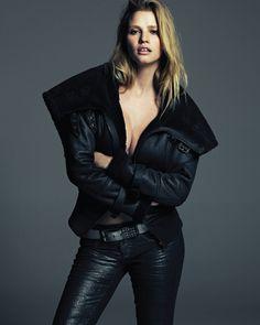 Lara Stone by Hong Jang Hyun for Vogue Korea