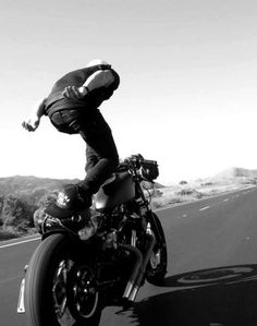 "CJWHO â""¢ (Ride Hard Die Free The Wing Beneath My Wings...) #white #black #road #photography #and #motorcycle"