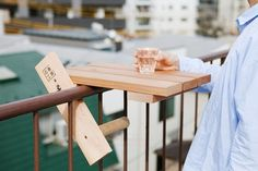 torafu architects: skydeck for ishinomaki laboratory #portable #architects #design #japanese #wood #furniture #product #torafu #skydeck