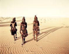 The ancient Namibian Himba tribe