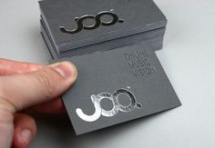 Effektive Studio. +44 (0)141 221 5070 #business #branding #joq #stationery #cards #foiled #duplex