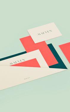 Lotta Nieminen - Maeven #print #identity #paper #cards