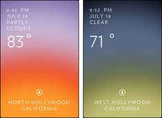 Solar: A perfect weather app ,for visually oriented people
