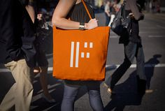 Forma by About Design #orange #branding #bag