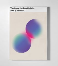 visualgraphc: LHC Guide Book Matthew Blick #print