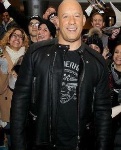 Vin Diesel Furious 8 Biker Jacket | Top Celebs Jackets