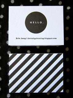 The Indigo Bunting: letterpress
