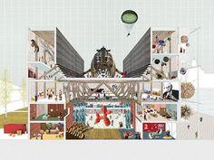 Gosplan Architects - Guggenheim Helsinki Proposal #architecture