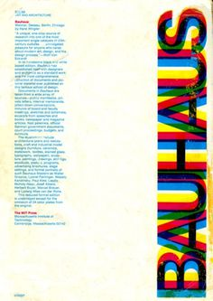 muse:magazin #bauhaus #design #graphic #typography
