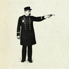 All sizes | Gunman | Flickr - Photo Sharing! #graphic #vintage
